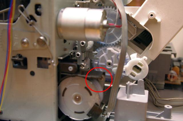 canon PIXUS MP370の分解清掃