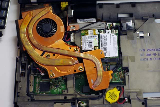 ThinkPad T60のCPUクーラー