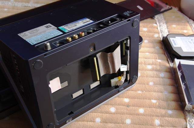 VALUESTAR FS VS500/6DBのハードディスク部