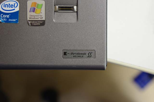 DynaBook SS MX/390LSです。