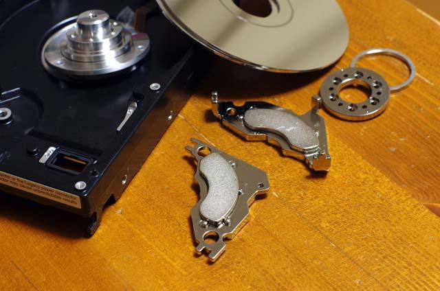 ハードディスクに入っている磁石