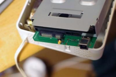 HDCN-U500のハードディスク