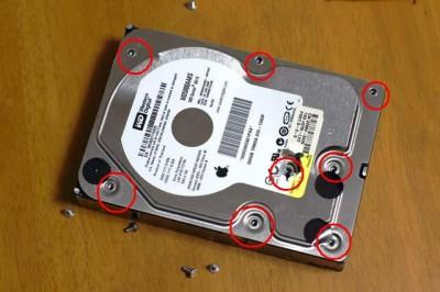 ハードディスクの解体